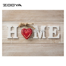 ZOOYA DIY Diamond Embroidery HOME Love Landscape Diamond Painting Cross Stitch Room Paintings Full Drill Mosaic Decoration BK419
