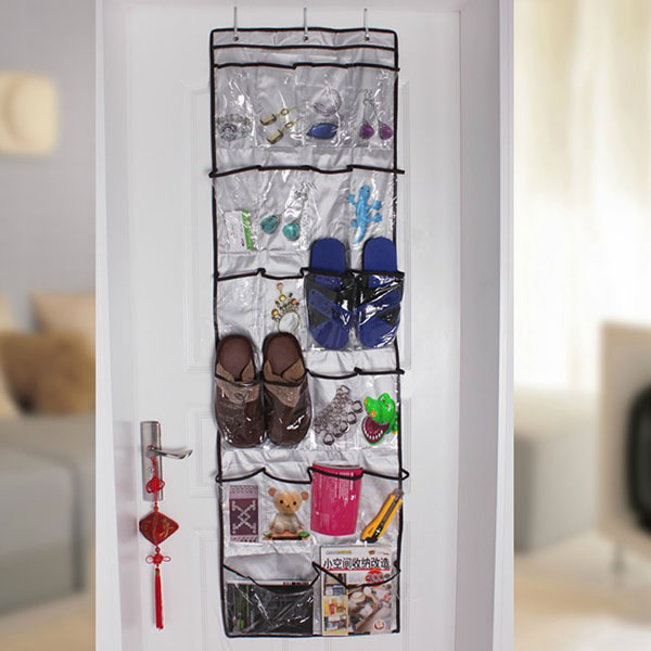 Nice New Pratical Transparent Vinyl 22 Pockets Shoe Storage Hanging Bag Tidy  Sock Toy Organizer Door Holder In Storage Bags From Home U0026 Garden On  Aliexpress.com ...