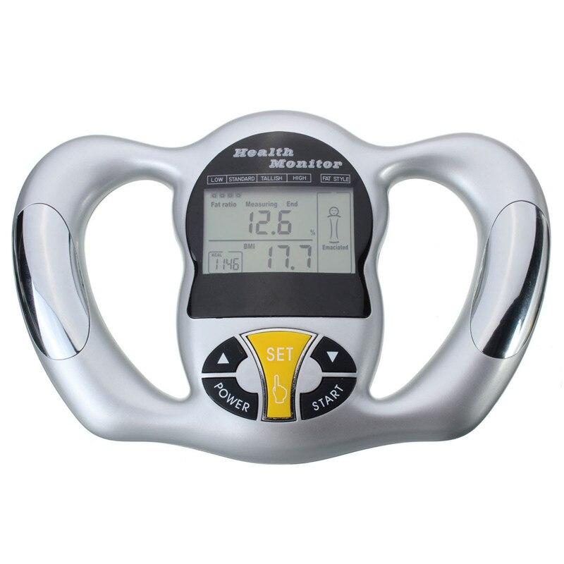 Nouveauté Mini numérique LCD Portable numérique Portable indice de masse corporelle BMI compteur santé analyseur de graisse moniteur