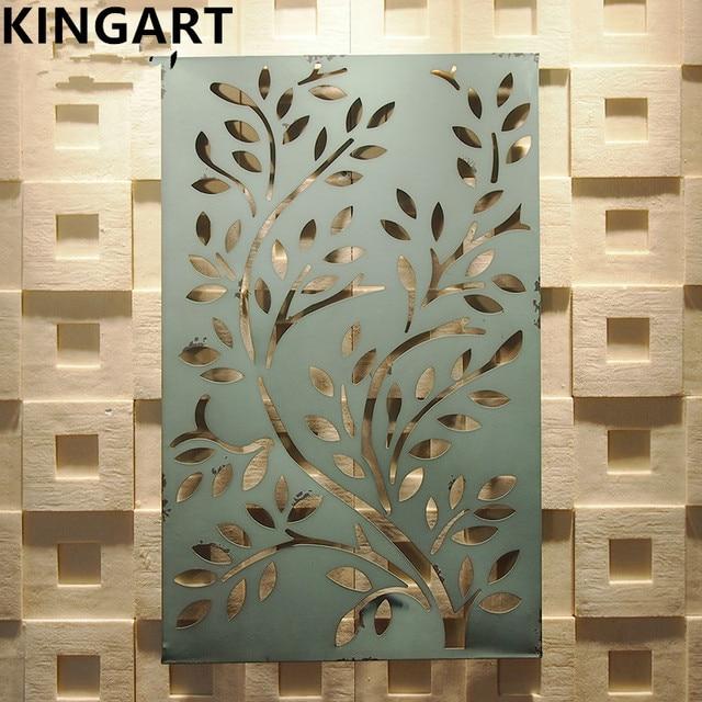 Kingart Retro Metal Wall Decor Antique Iron Wall Art Home Decoration ...