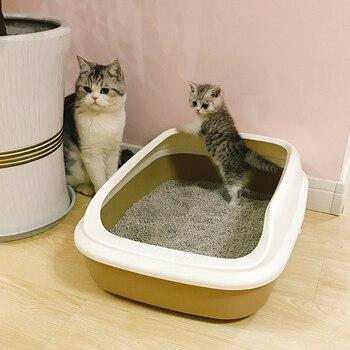 Semi-open Cat Toilet + Scoop 1