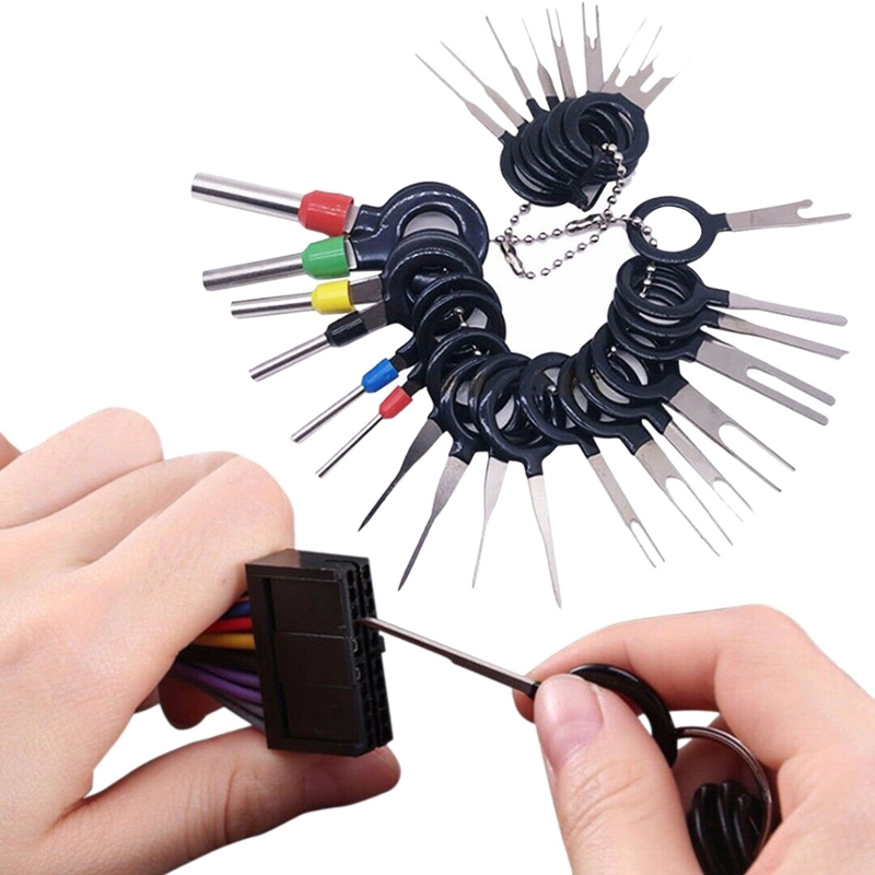 US $3 67 27% OFF|Automotive Tools 26Pcs Car Terminal Removal Tool Kit Wire  Connector Pin Release Extractor Puller-in Strut Bars from Automobiles &
