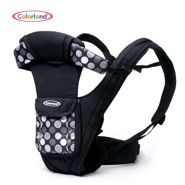 Colorland Mochila Porta Bebé con Tapas de Protección Envolvente Tridimensional