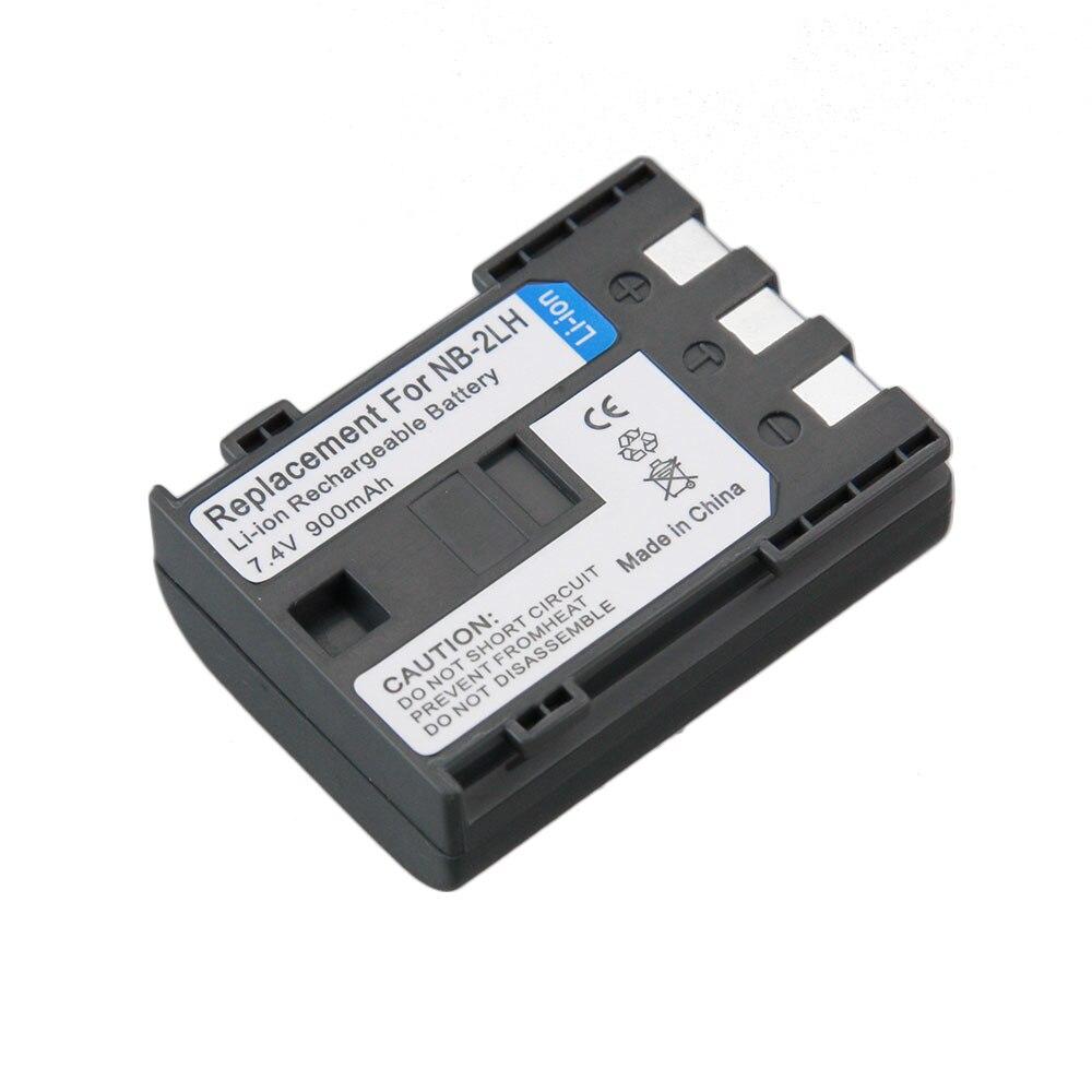 Réel Capacité 1 PCS NB-2L NB 2L NB2L NB-2LH Caméra Rechargeable Li-ion batterie pour CANON 350D 400D G7 G9 S30 S40 EOS Powershot