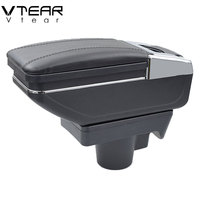Vtear For Opel Astra armrest box central Store content box storage interior car styling decoration accessories parts 2010 2013