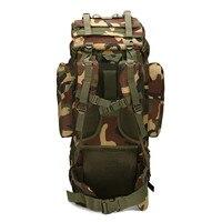 Рыбалка 65L большой емкости альпинистская сумка снаряжение для путешествий Кемпинг Сумка на ногу водонепроницаемый чехол Камуфляжный Рюкза