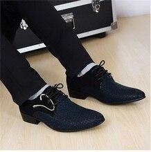 Новая мода на шнуровке Color matching Мужчины костюм Туфли Офис мужские заостренные Кожаные ботинки Мужчины Бизнес Обувь мужчины квартиры(China (Mainland))
