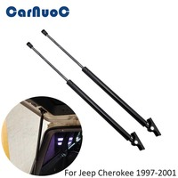 2pcs Liftgate Hatch Tailgate Lift Supports Strut For Jeep Cherokee (XJ)1997 2001 Auto Gas Spring Damper