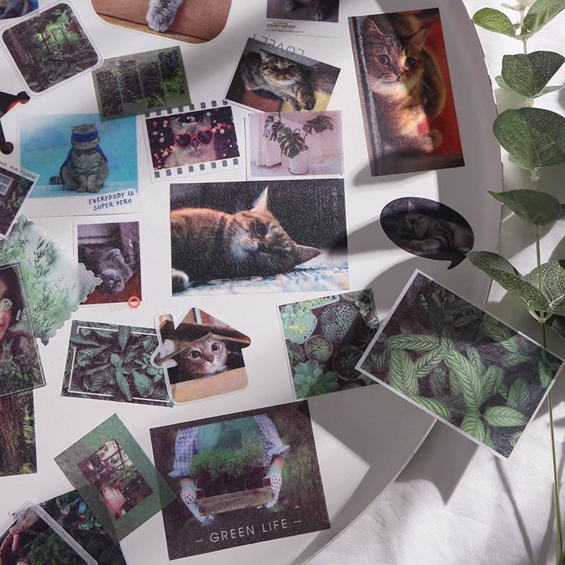 Travel Series Washi Paper Sticker Bag Journal Album Item Decoration Sealing Sticker DIY