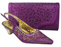 Italian Shoes With Matching Bag High Quality For Occasion Italy Shoes And Bag 708-1 For Evening Free Shipping