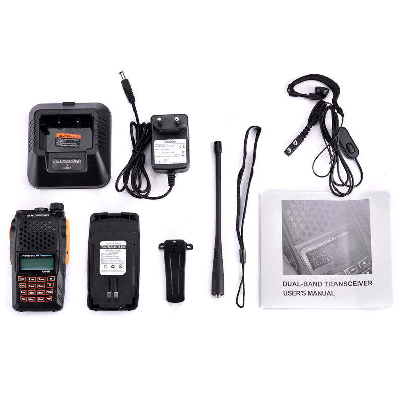 Image 5 - Baofeng UV 6R Walkie Talkie 7W Professional CB Radio Dual Band 128CH LCD Display Wireless Pofung UV6R Portable Ham Two Way Radio-in Walkie Talkie from Cellphones & Telecommunications