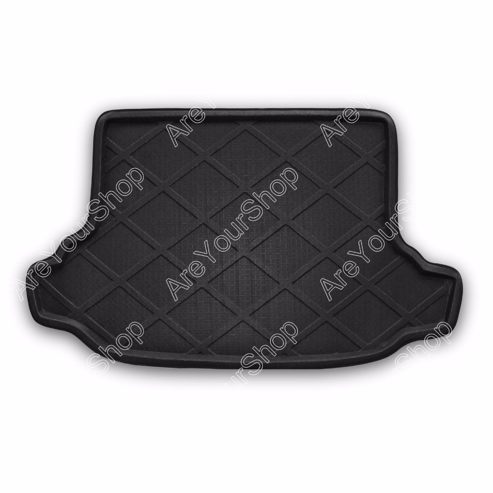 Auto Cargo Mat Boot liner Tray Rear Trunk Sticker Dog Pet Covers For Subaru Forester 2008 2009 2010-2013 Black Car-Styling Decal car rear trunk security shield shade cargo cover for nissan qashqai 2008 2009 2010 2011 2012 2013 black beige