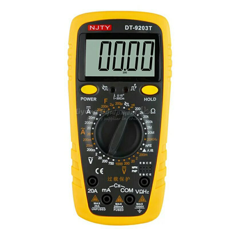 high-accuracy digital clamp multimeter E00354 hp 37k scope multimeter with high accuracy
