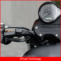 MWUPP Motorcycle Dual USB Port 12V 24V 2 4A IPX6 Waterproof USB Charger With Micro USB