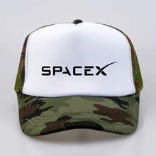 Hot Sale SpaceX Baseball caps UFO Men Women hats summer Outer Space Rocket Musk Fans Sport Active Cool hat Mesh Net Trucker Cap