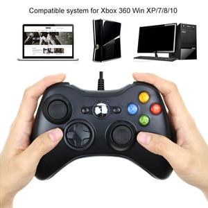 Image 2 - Usb有線コントローラxbox 360 のゲームアクセサリーパッドジョイパッドジョイスティックマイクロソフトXBOX360 コンソールpc携帯電話controle