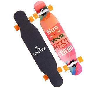 Image 3 - Professional Dancing Longboard Deck 107CM Highway Dance Board Downhill Freestyle Road Brush Street Skate Longboard Skateboard