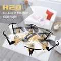 JJRC H20 Nano Hexacopter 2.4G 4CH 6-Axis Gyro Headless Mode RTF Quadcopter One Key Return LED Ligh Red Gold