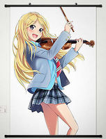 Wall Scroll Poster Fabric Painting For Anime Your Lie In April Kaori Miyazono 13