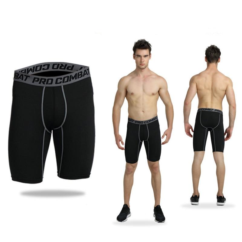Men S Compression Tights Half Shorts Sports Tight Black Fitness Running Basketball Short Jogging Leggings Slim Fit Running Short Running Shorts Aliexpress
