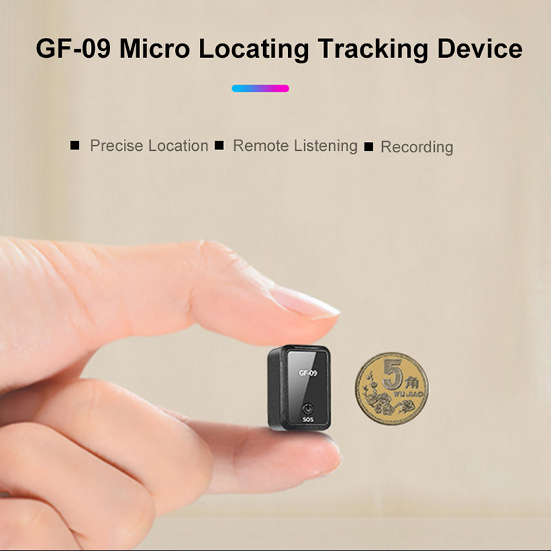 Image 5 - Newest Car mini gf 09 Gps Tracker Car GPS Locator Tracker Anti Lost Recording Tracking Device Voice Control Can Record-in GPS Trackers from Automobiles & Motorcycles