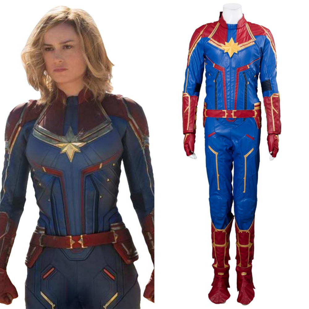 2019 Avengers 4 Annihilation Captain Marvel Costume -1145