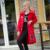 YuooMuoo Nuevo 2016 Tamaño Más Mujeres de la Chaqueta de Algodón Acolchado de Invierno Largo Abajo Chaqueta Europea Moda Abrigo Parka Cortavientos Femenino