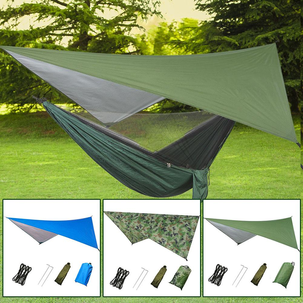 3 Color 270*270cm Outdoor Multi-Function Tent Canopy Waterproof Sunscreen Outdoor Tents Sunshade Beach Camping Supplies