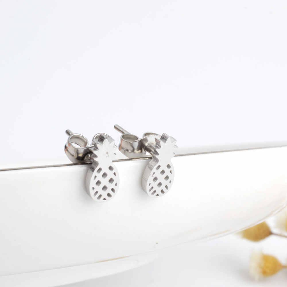 2019 FINE4U E055 12 par wysokiej polerowanie zestawy kolczyków dla kobiet kolczyki ze stali nierdzewnej 316L Wedding Party biżuteria