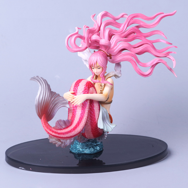 Good PVC Scultures Big Princess Shirahoshi Action <font><b>Figure</b></font> Colosseum <font><b>Anime</b></font> ONE PIECE <font><b>Sexy</b></font> Mermaid Doll Model Toy Collectibles image