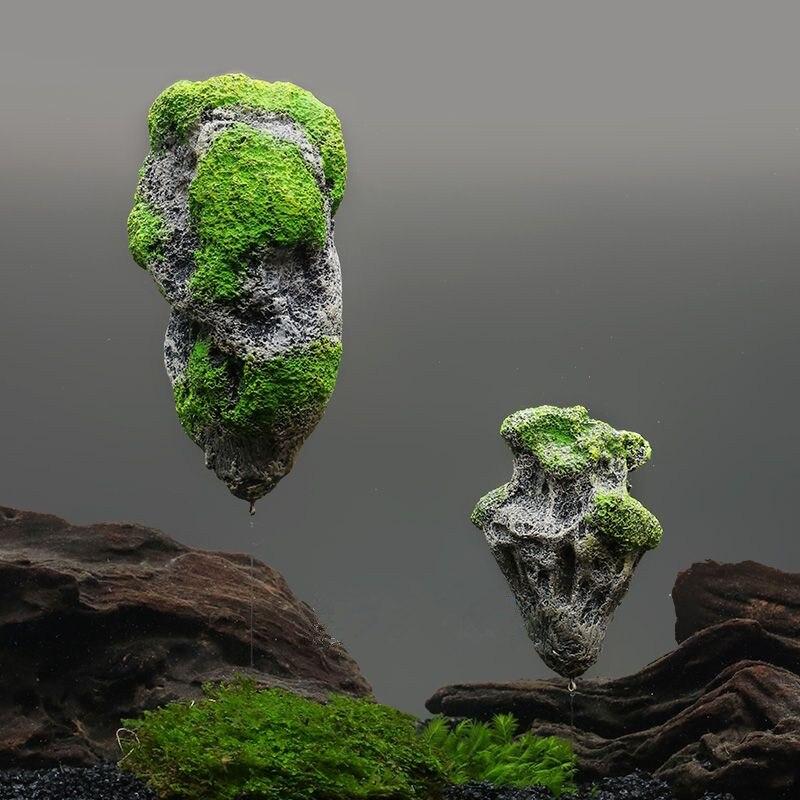 Artificial moss rocks reviews online shopping artificial for Aquarium decoration rocks