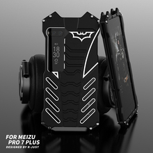360 Corpo Pieno Proteggere Blocco Per Il Caso di Meizu Pro 7 Plus Pro 6 del Metallo di Alluminio Della Copertura Del Respingente Per Oneplus 7 pro 7T 5 5T 6 6T Cassa Del Telefono