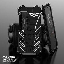 360 coque de protection complète du corps pour Meizu Pro 7 Plus Pro 6 housse de protection en aluminium pour Oneplus 7 Pro 7T 5T 6 6T coque de téléphone