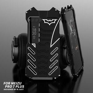 Image 1 - 360 גוף מלא להגן על בת מקרה לmeizu פרו 7 בתוספת פרו 6 אלומיניום מתכת פגוש כיסוי עבור Oneplus 7 פרו 7T 5 5T 6 6T טלפון מקרה