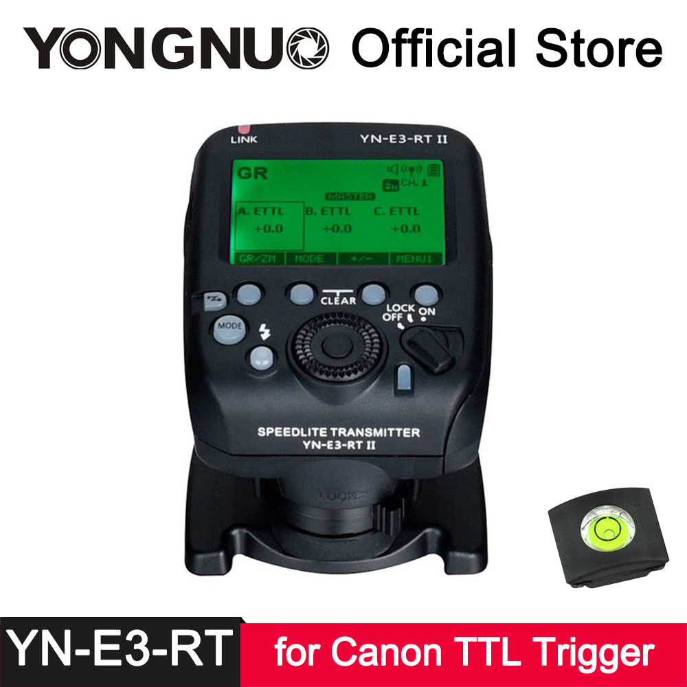 YongNuo YN-E3-RT II Transmitter ETTL Wireless Flash Trigger for Canon ST-E3-RT YN968EX YN600EX-RT II YN686EX-RT YNE3-RX аксессуар yongnuo yn e3 rx дополнительный приемник