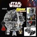 НОВЫЙ ЛЕПИН 05035 Star Wars Death Star Модель 3803 шт. Строительный Блок Кирпичи Игрушки Наборы Мини-Совместимый 10188 Детей Подарки