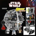 NUEVA LEPIN 05035 Star Wars Death Star Modelo 3803 unids de Bloques de Construcción Ladrillos Juguetes Kits Mini Compatible 10188 Niños Regalos