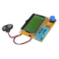 Hot Selling Mega328 LCR T4 ESR Meter LCR Led Transistor Tester Diode Triode Capacitance MOS PNP