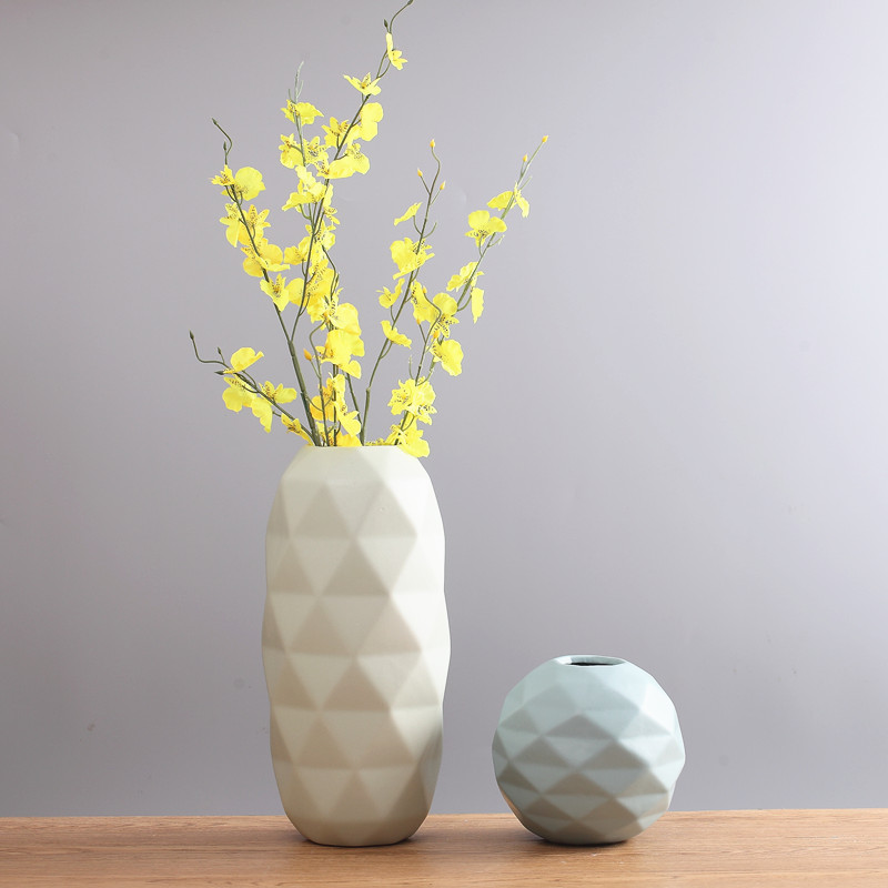 Creative Nordic Modern Desktop Vase Flower Pot Stylish Geometric