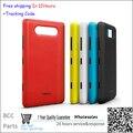 Новый Беспроводной Зарядное Устройство Зарядки Корпус Чип Батареи Задняя Крышка Крышка Дверные + Боковая Кнопка Для Nokia Lumia 820 Жилья Бесплатная доставка