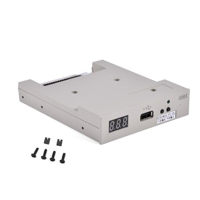 """SFR1M44-FU-DL 3.5 """"USB 1.44 MB Floppy Drive Emulator per Macchina da Ricamo floppy drive emulatori"""