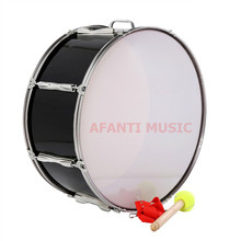 22 inch / Black / Single tone Afanti Music Bass Drum (BAS-1373)