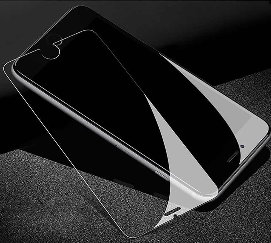 2 ชิ้น 9 H กระจกนิรภัยสำหรับ Apple iPhone XR 8 5 6 7 4 วินาที 5C 5 วินาที 6 วินาที Plus Xs Max ป้องกันการระเบิดฟิล์ม