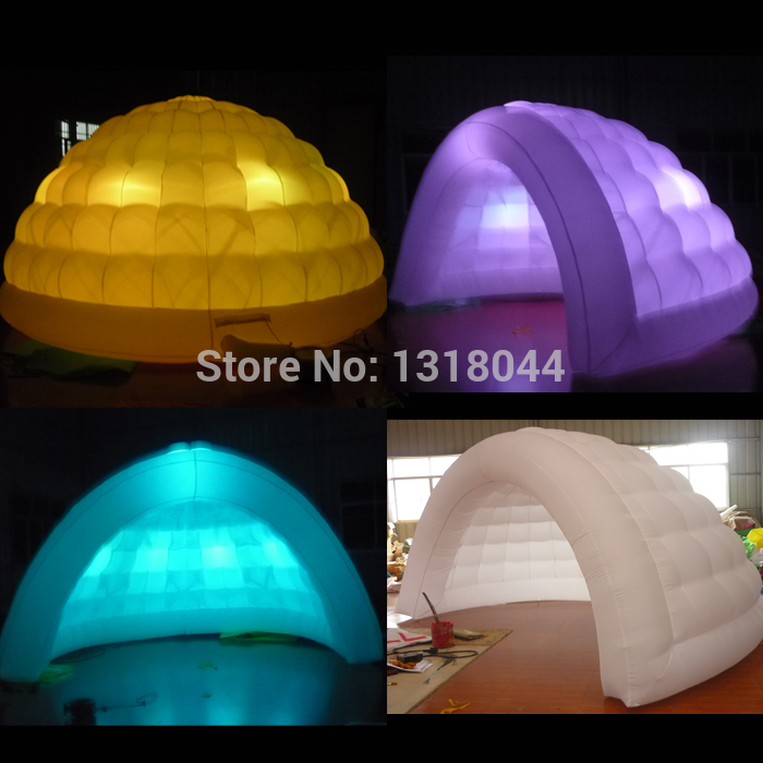 Hot sale portable outdoor inflatable dome tent with led for wedding/events/commercial use(Free blowerFree logo)-in Party Backdrops from Home u0026 Garden on ... & Hot sale portable outdoor inflatable dome tent with led for ...