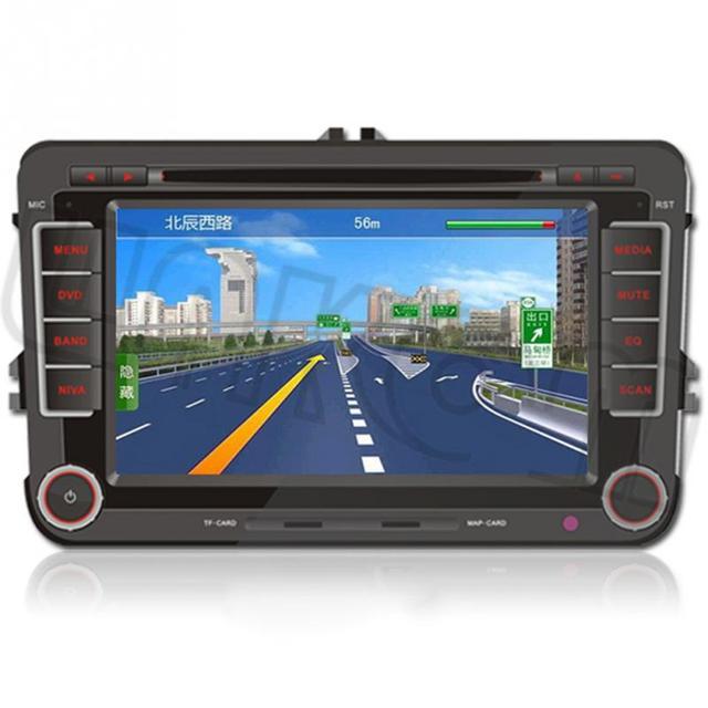 "Android 4.4 HD7 "" coche DVD GPS Navi Quad Core serie VW Jetta Passat Golf Polo EOS soporte para 7703,7703R ( RDS )"