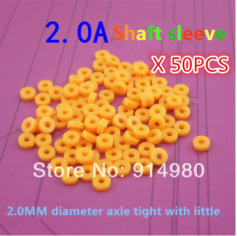 Toy iron shaft axle shaft sleeve 2.0A 2.0MM straight axle toy accessories DIY accessorie ...