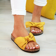 2020 Shoes Woman Sandals For Women Beach Shoes Bow Slip On G