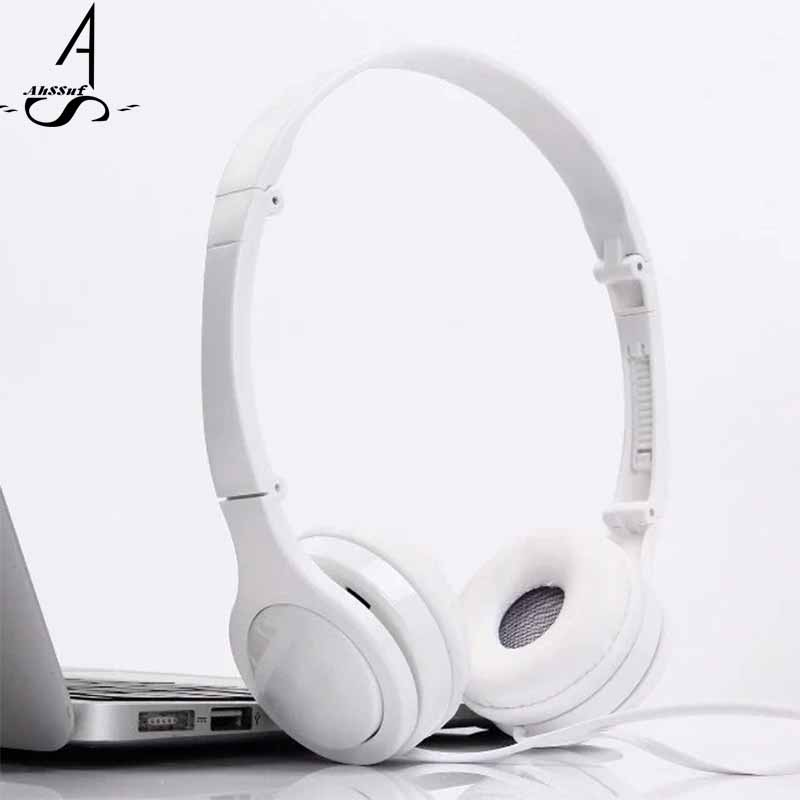 AuSSuf Headphones with Microphone Music Auriculares PC Gamer Consumer Electronics Smartphone Android Running Headset Sport Wired