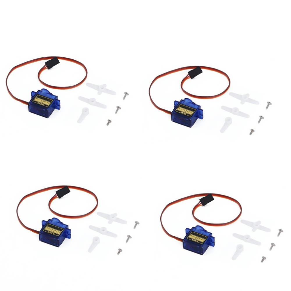 4pcs/lot QYWWRC SG90 9g Mini Micro Servo for RC for RC 250 450 Helicopter Airplane Car Drop Free Shippping