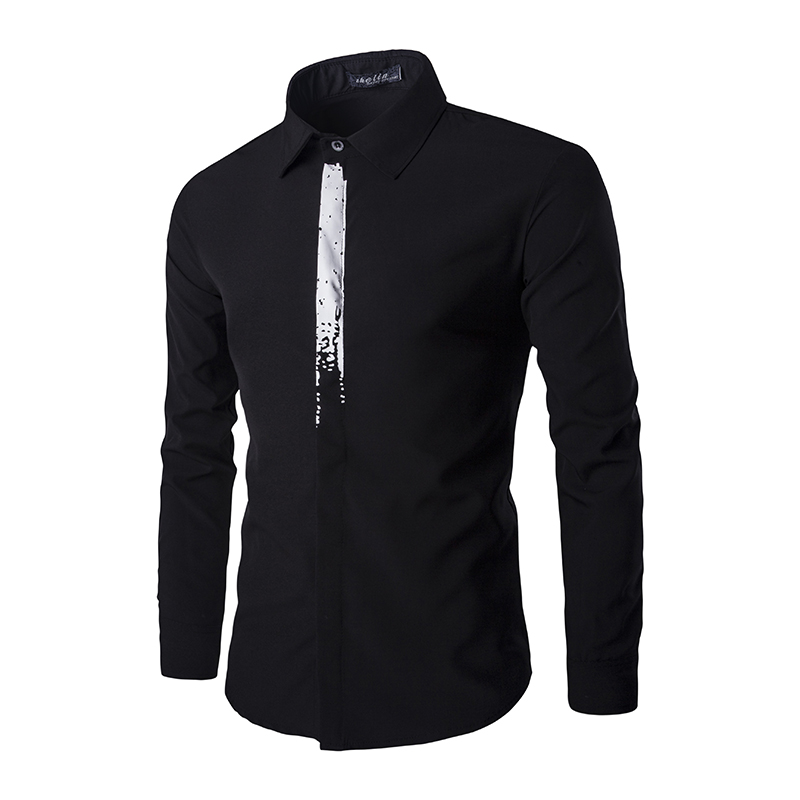 Compare Prices on Men Shirt Long Sleeve Pattern- Online Shopping ...